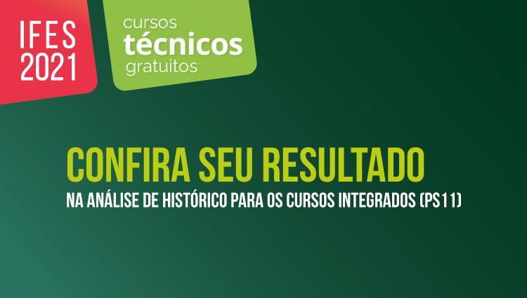 Ifes divulga resultado parcial da análise de histórico para cursos técnicos integrados