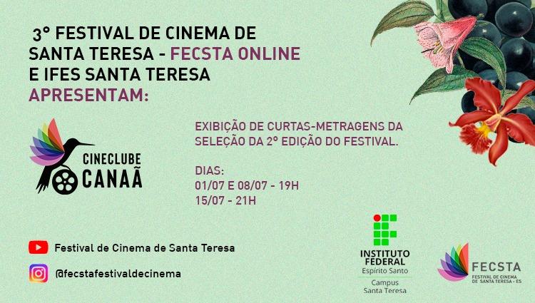 Campus Santa Teresa e FECSTA realizam mostra de filmes