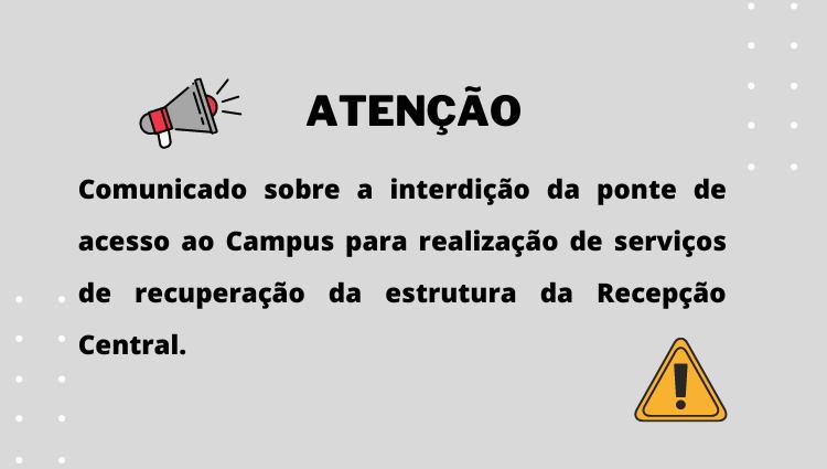 Campus Santa Teresa emite comunicado sobre interdição da ponte de acesso à Instituição