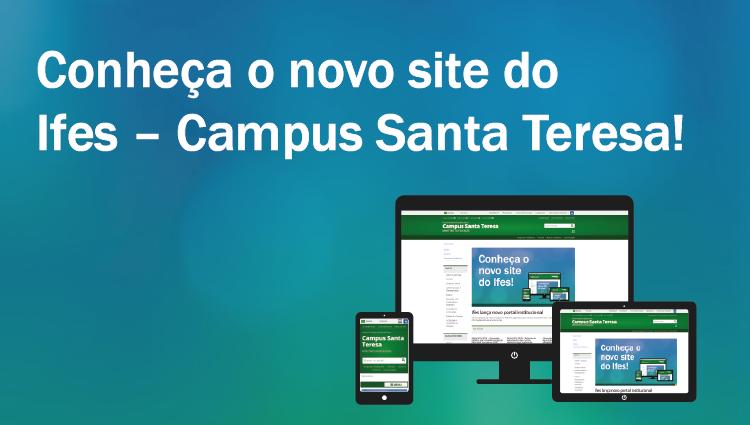 Ifes Campus Santa Teresa lança novo portal institucional