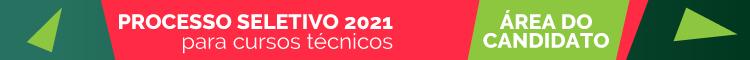 Processo seletivo cursos técnicos 2021